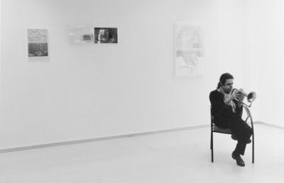 Paolo Fresu -  mostra Suit I: Pilar Cossio- 2000