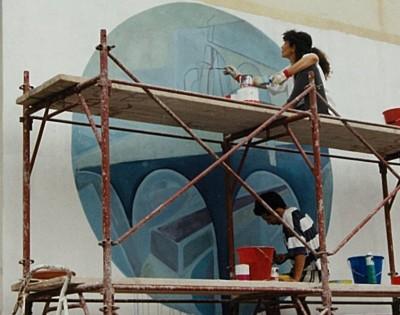 festival de jazz-berchidda, italia- mural
