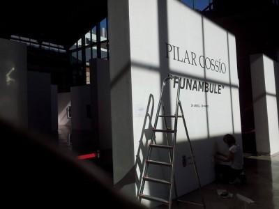 FUNAMBULE-/ MONTAJE expo. 23-04-2015