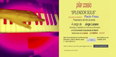 invitacio SPLENDOR SOLIS/MADRID